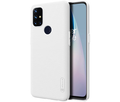 Nillkin OnePlus Nord N10 5G Gehäuse Super Frosted Shield White