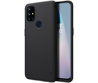 Nillkin OnePlus Nord N10 5G Fall Super Frosted Shield Schwarz