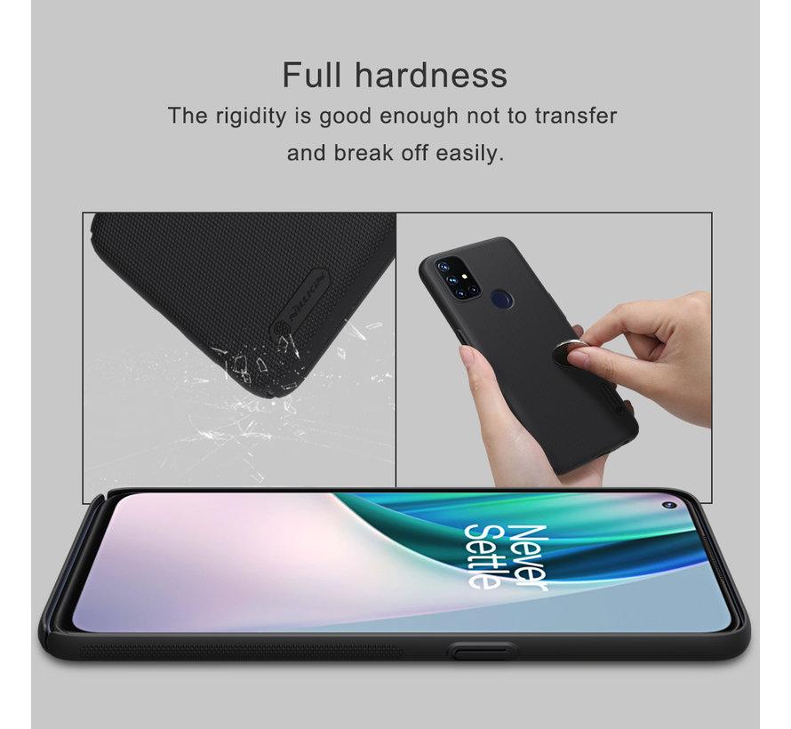 OnePlus Nord N10 5G Hoesje Super Frosted Shield Zwart