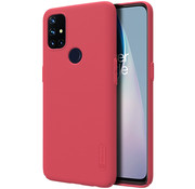 Nillkin OnePlus Nord N10 5G Hoesje Super Frosted Shield Rood