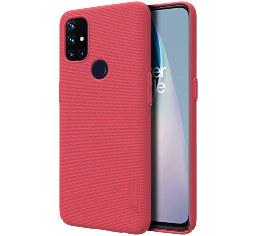 OnePlus Nord N10 5G Fall Super Frosted Shield Red