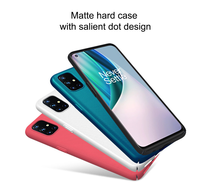 OnePlus Nord N10 5G Hoesje Super Frosted Shield Rood
