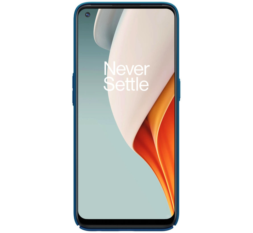 OnePlus Nord N100 Hoesje Super Frosted Shield Blauw