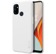 Nillkin OnePlus Nord N100 Gehäuse Super Frosted Shield White