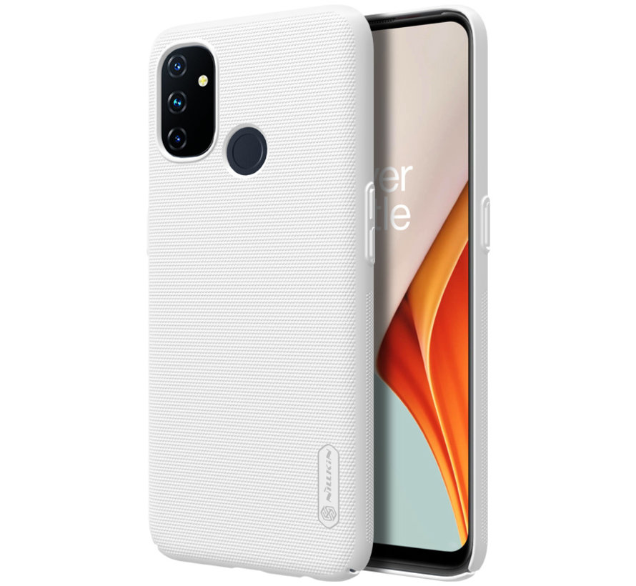 OnePlus Nord N100 Gehäuse Super Frosted Shield White