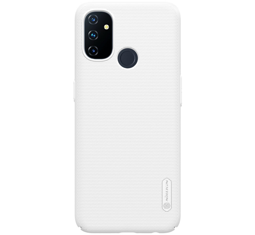 OnePlus Nord N100 Hoesje Super Frosted Shield Wit