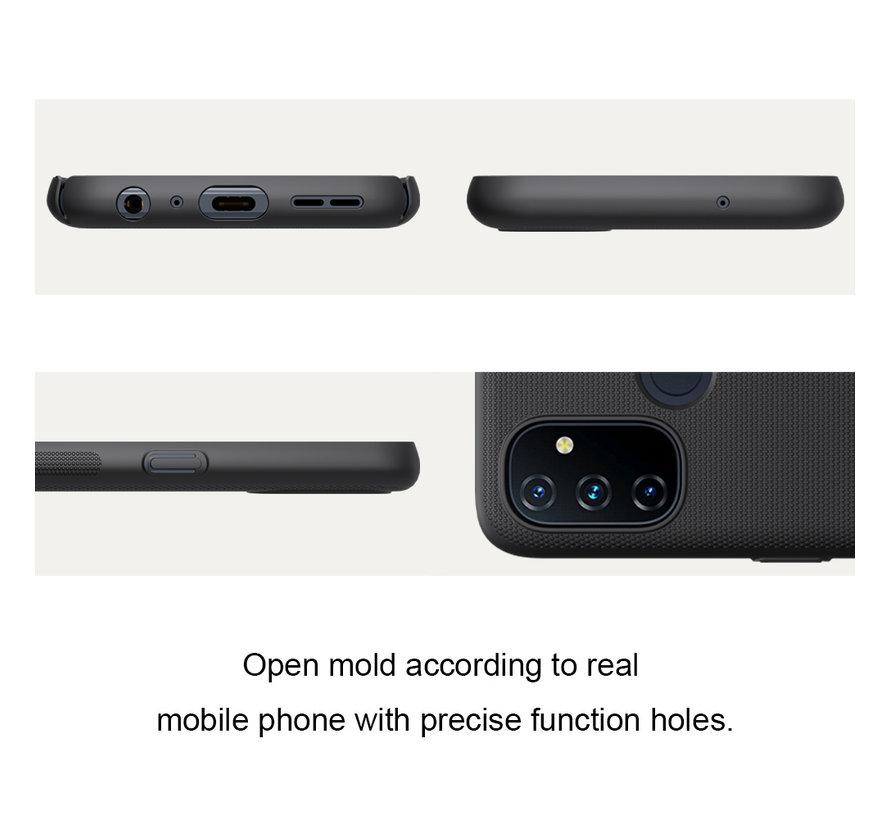 OnePlus Nord N100 Hoesje Super Frosted Shield Zwart