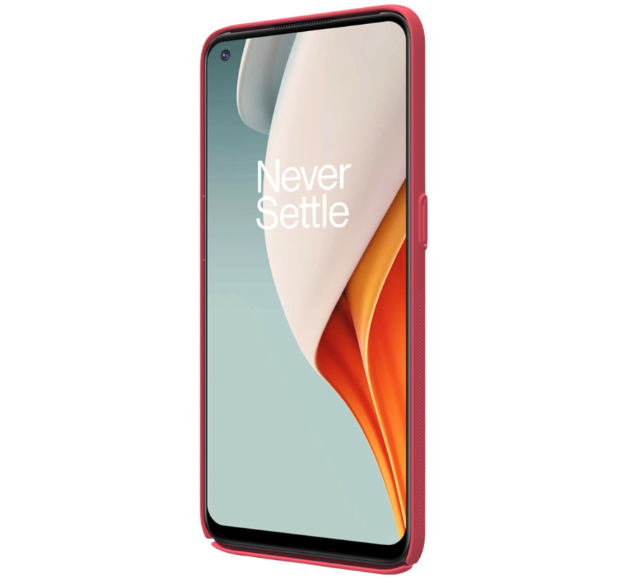 OnePlus Nord N100 Fall Super Frosted Shield Red