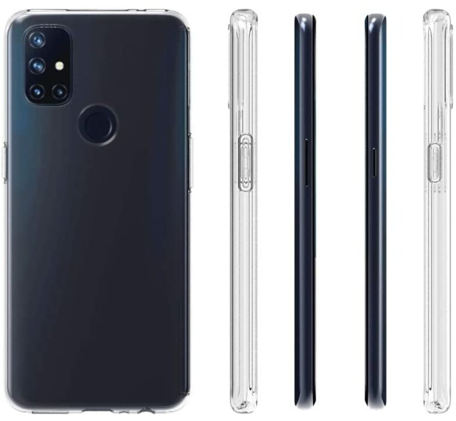 OnePlus Nord N10 5G  Hoesje TPU Transparant