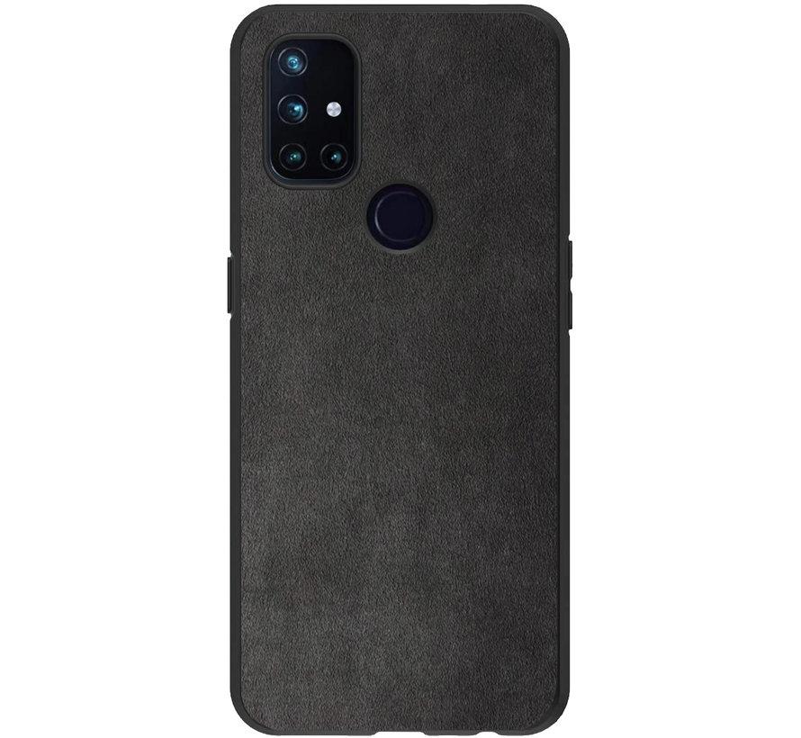 OnePlus Nord N10 5G Hoesje Premium Alcantara