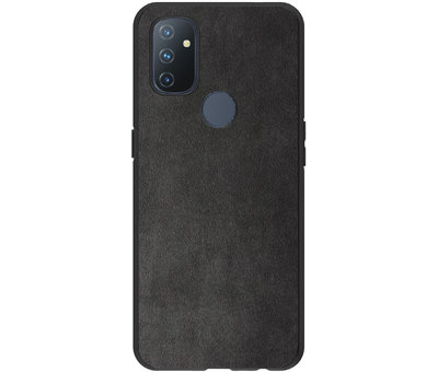 OPPRO OnePlus Nord N100 Hoesje Premium Alcantara
