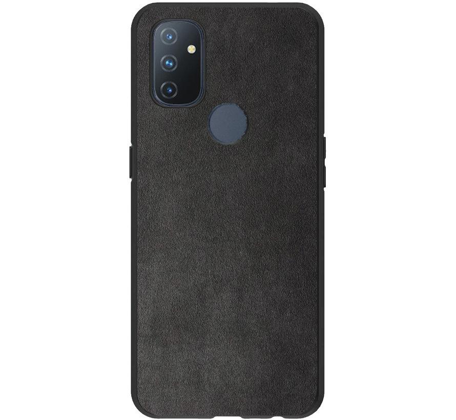 OnePlus Nord N100 Hoesje Premium Alcantara