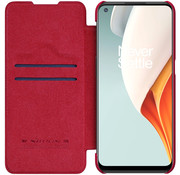 Nillkin OnePlus Nord N100 Flip Case Qin Red