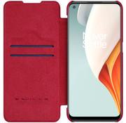 Nillkin OnePlus Nord N100 Flip Case Qin Rood
