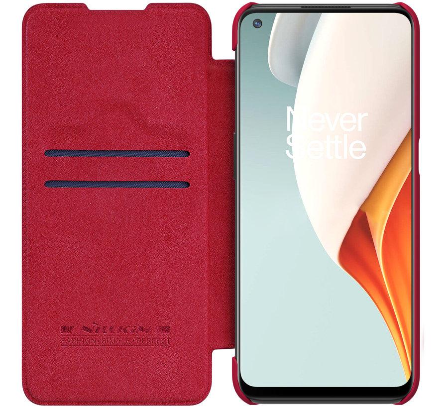 OnePlus Nord N100 Flip Case Qin Rot