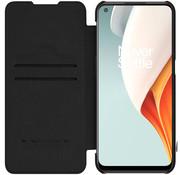 Nillkin OnePlus Nord N100 Flip Case Qin Zwart