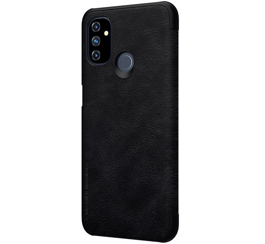 OnePlus Nord N100 Flip Case Qin Zwart