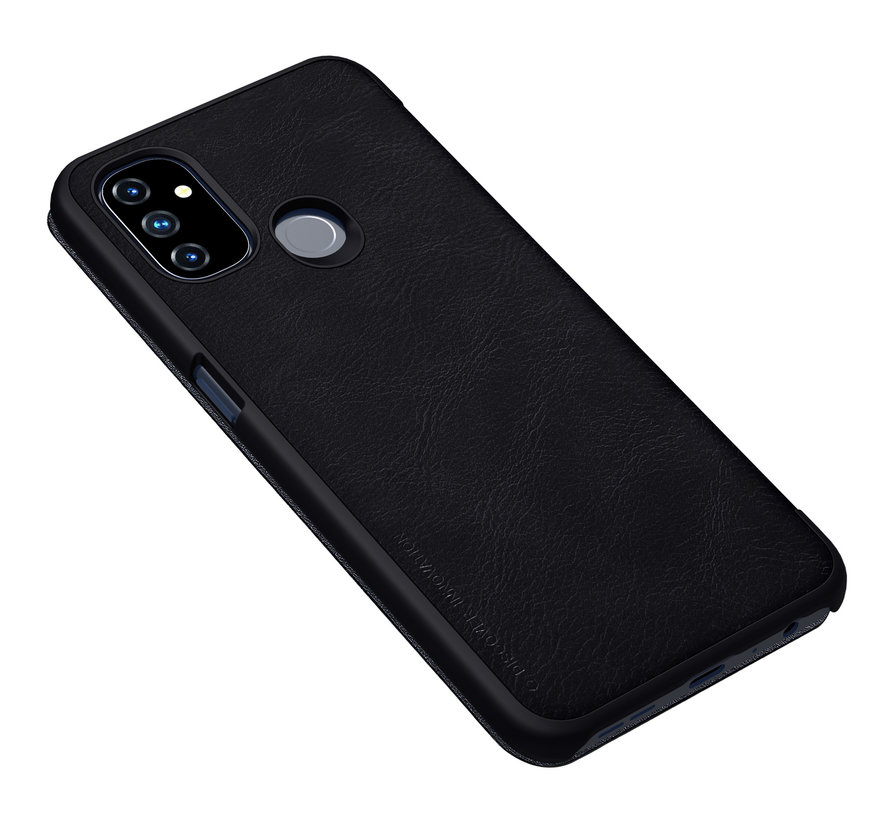 OnePlus Nord N100 Flip Case Qin Schwarz