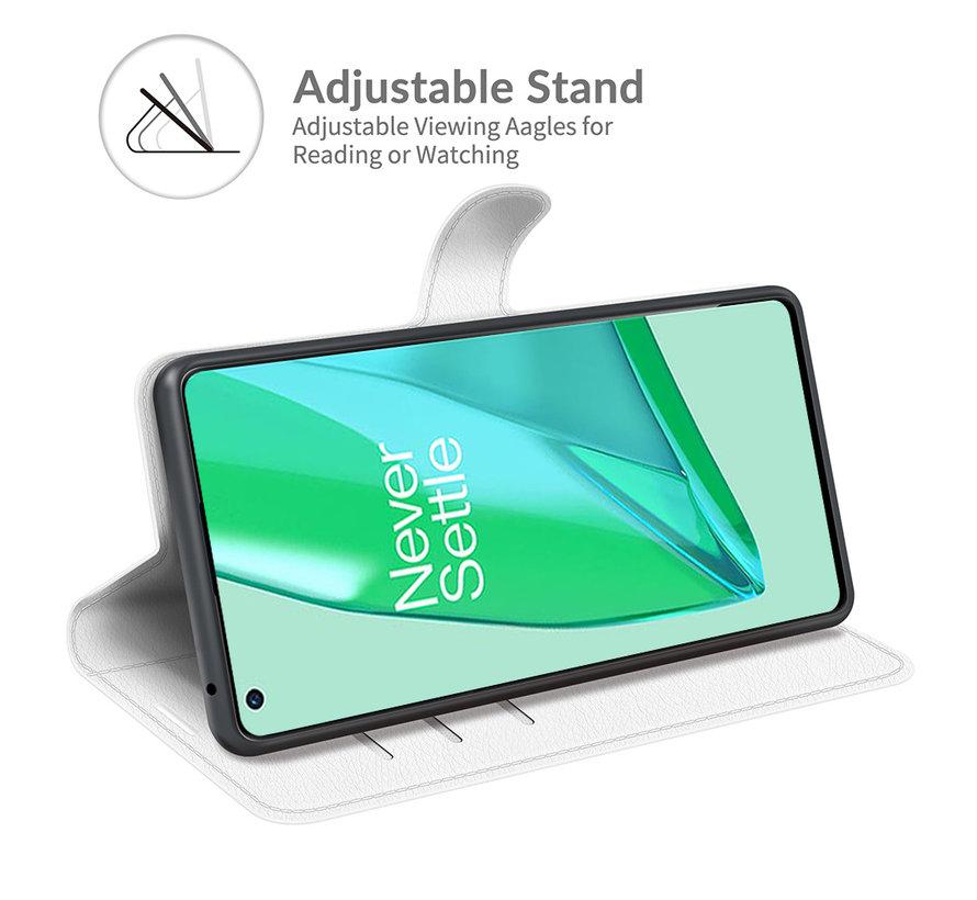 OnePlus 9 Pro Wallet Flip Case Weiß