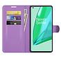 OnePlus 9 Pro Wallet Flip Case Paars
