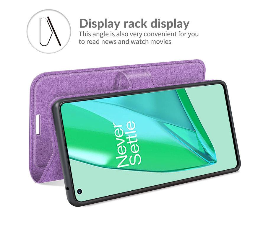 OnePlus 9 Pro Wallet Flip Case Lila