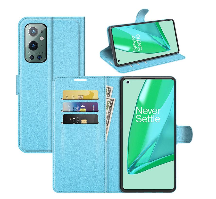 OnePlus 9 Pro Wallet Flip Case Blau