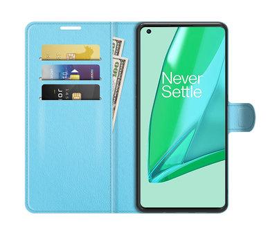 OPPRO OnePlus 9 Pro Wallet Flip Case Blau