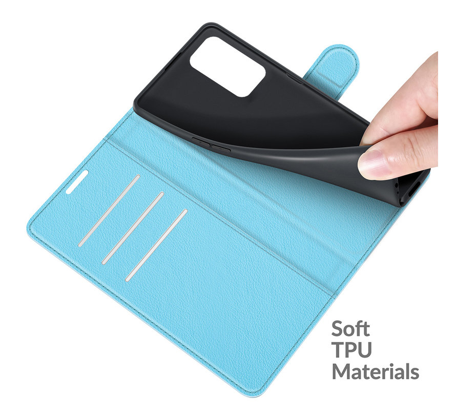 OnePlus 9 Pro Wallet Flip Case Blauw