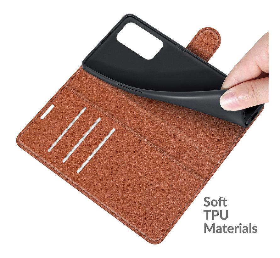 OnePlus 9 Pro Wallet Flip Case Bruin