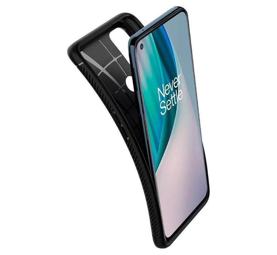 OnePlus Nord N10 5G Gehäuse Robuste Rüstung Schwarz