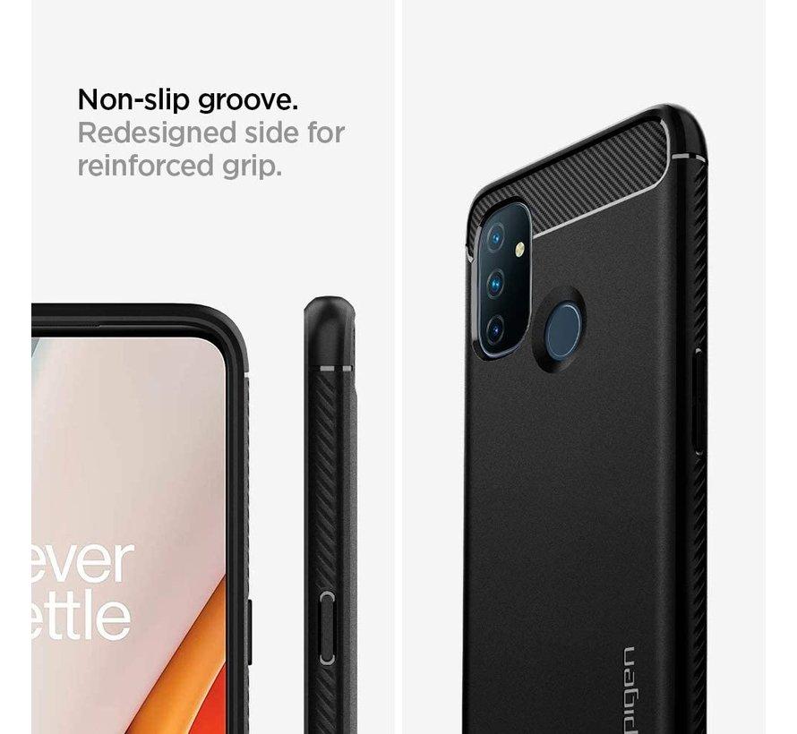 OnePlus Nord N100 Gehäuse Robuste Rüstung Schwarz