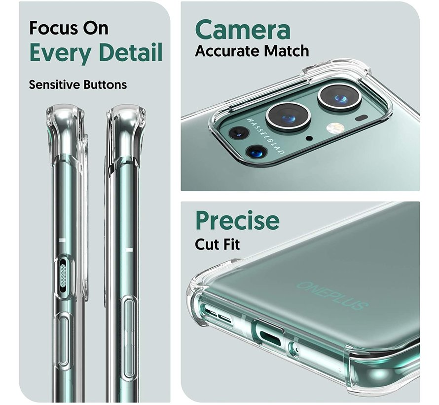 OnePlus 9 Pro Case Xtreme TPU Transparent