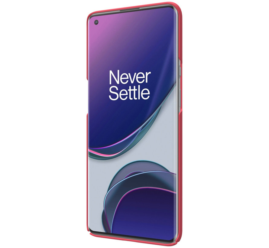 OnePlus 9 Pro Hoesje Super Frosted Shield Rood
