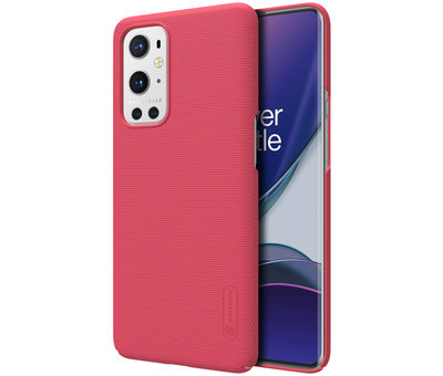 Nillkin OnePlus 9 Pro Fall Super Frosted Shield Red