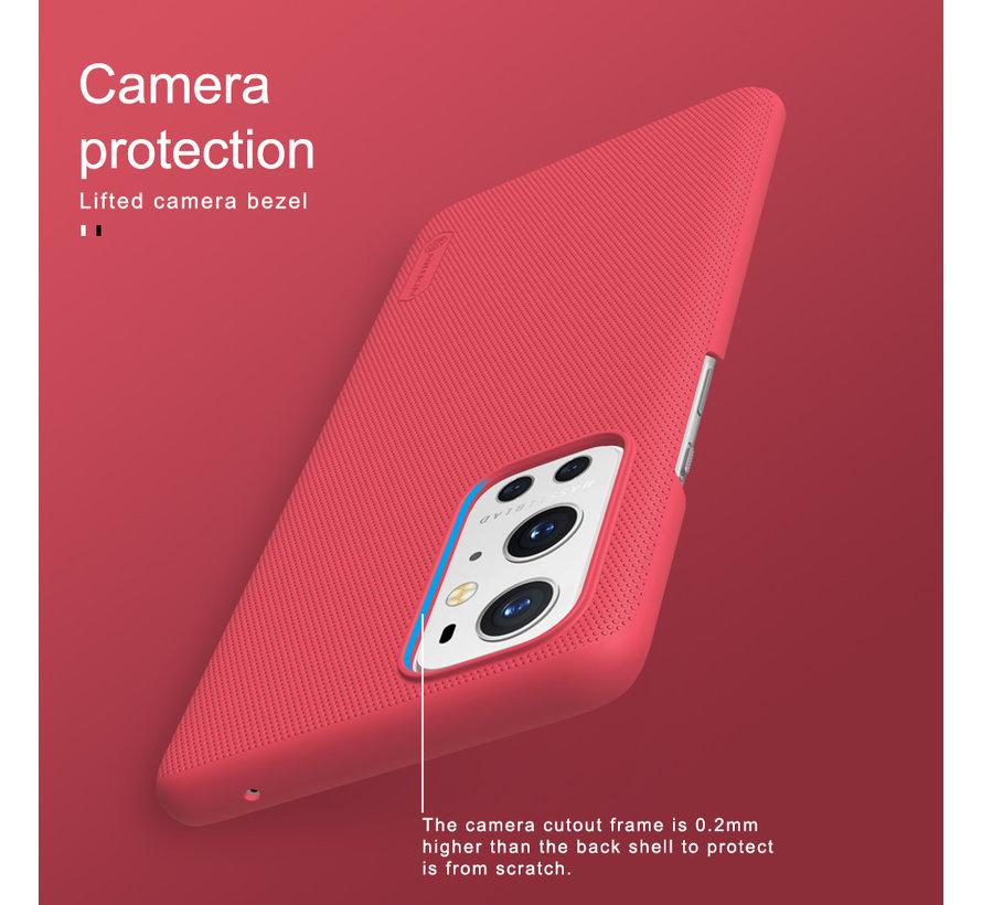 OnePlus 9 Pro Hoesje Super Frosted Shield Zwart