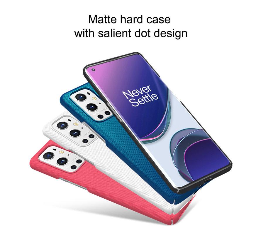OnePlus 9 Pro Hoesje Super Frosted Shield Wit