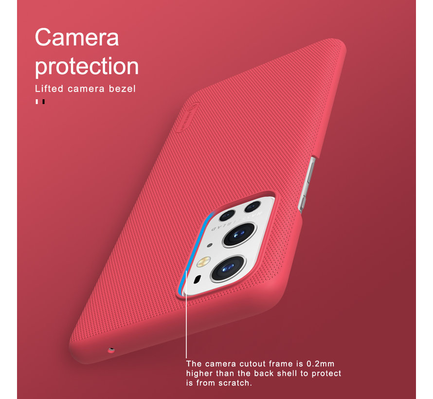 OnePlus 9 Pro Case Super Frosted Shield White