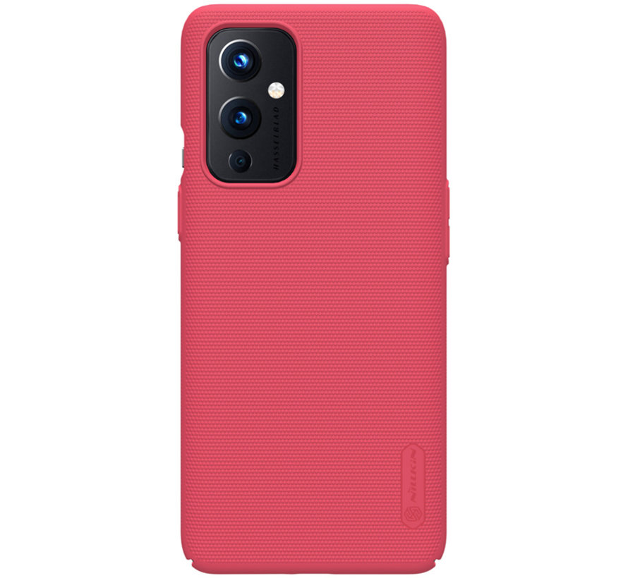 OnePlus 9 Hoesje Super Frosted Shield Rood