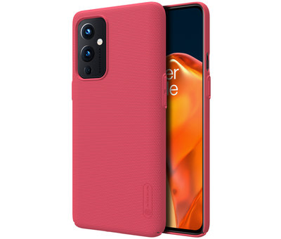 Nillkin OnePlus 9 Case Super Frosted Shield Red