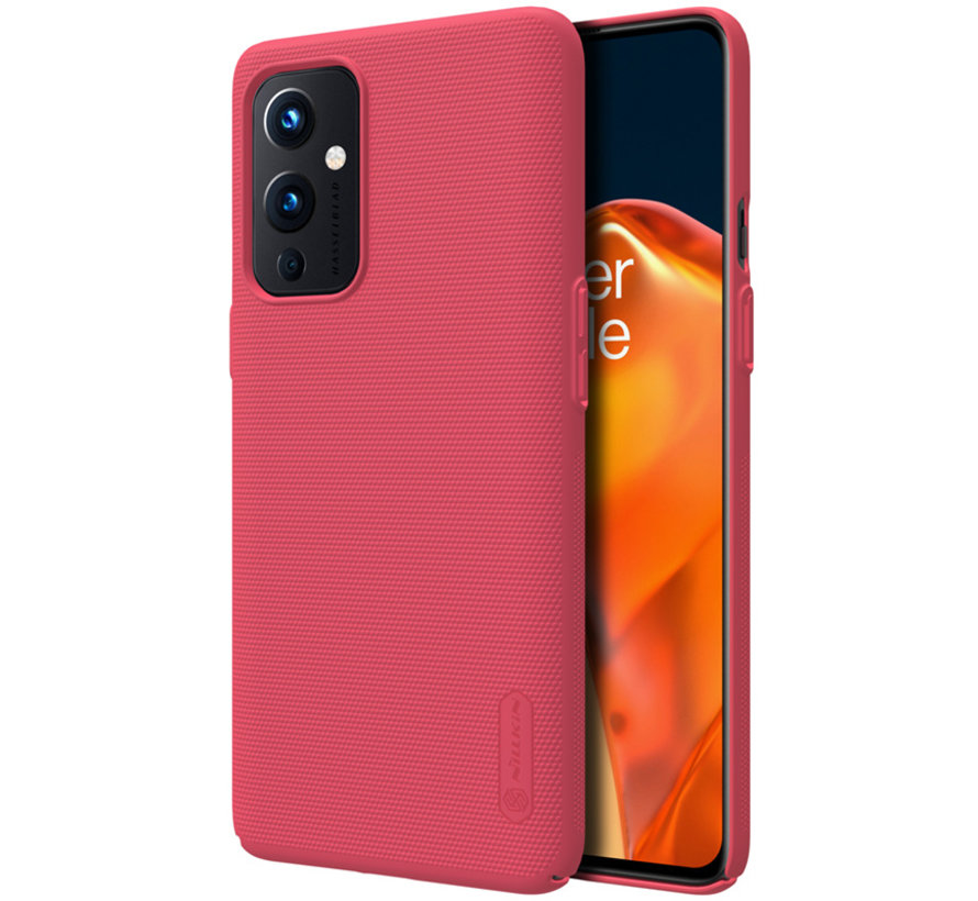 OnePlus 9 Case Super Frosted Shield Red
