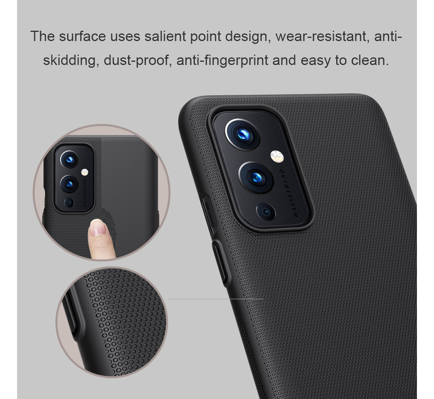 OnePlus 9 Fall Super Frosted Shield Schwarz