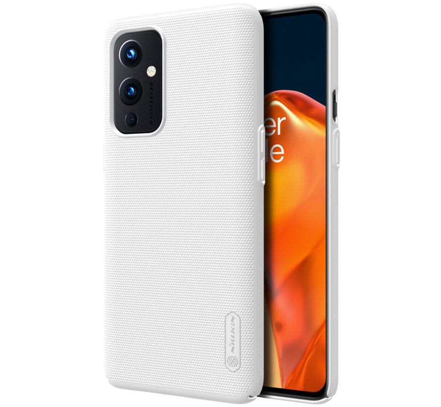 OnePlus 9 Hoesje Super Frosted Shield Wit