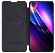 Nillkin OnePlus 9 Flip Case Qin Schwarz