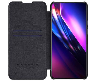 Nillkin OnePlus 9 Flip Case Qin Zwart