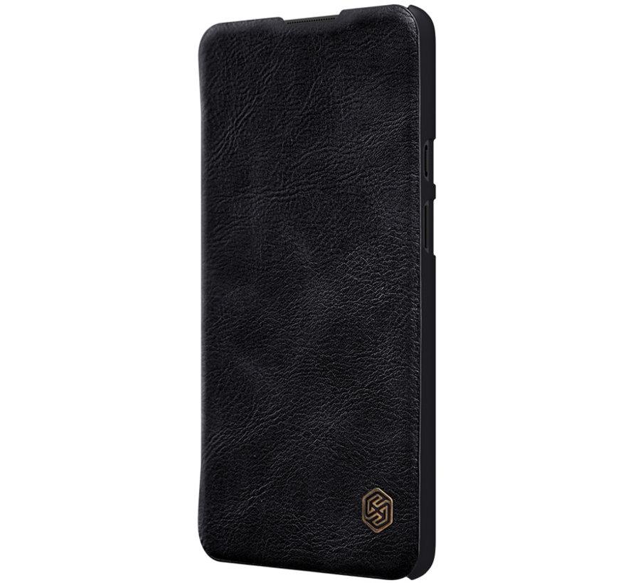 OnePlus 9 Flip Case Qin Zwart