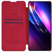 Nillkin OnePlus 9 Flip Case Qin Red