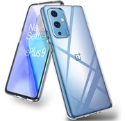 OPPRO OnePlus 9  Hoesje TPU Transparant
