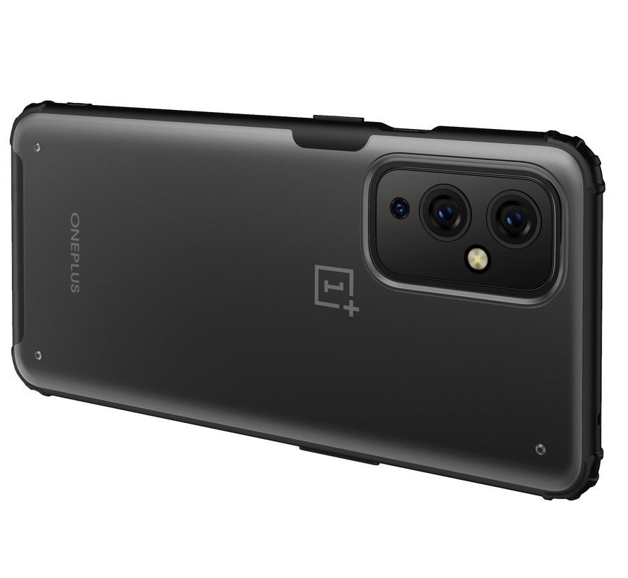 OnePlus 9 Merge Bumper Hoesje Rood