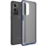 OPPRO OnePlus 9 Merge Bumper Hoesje Blauw