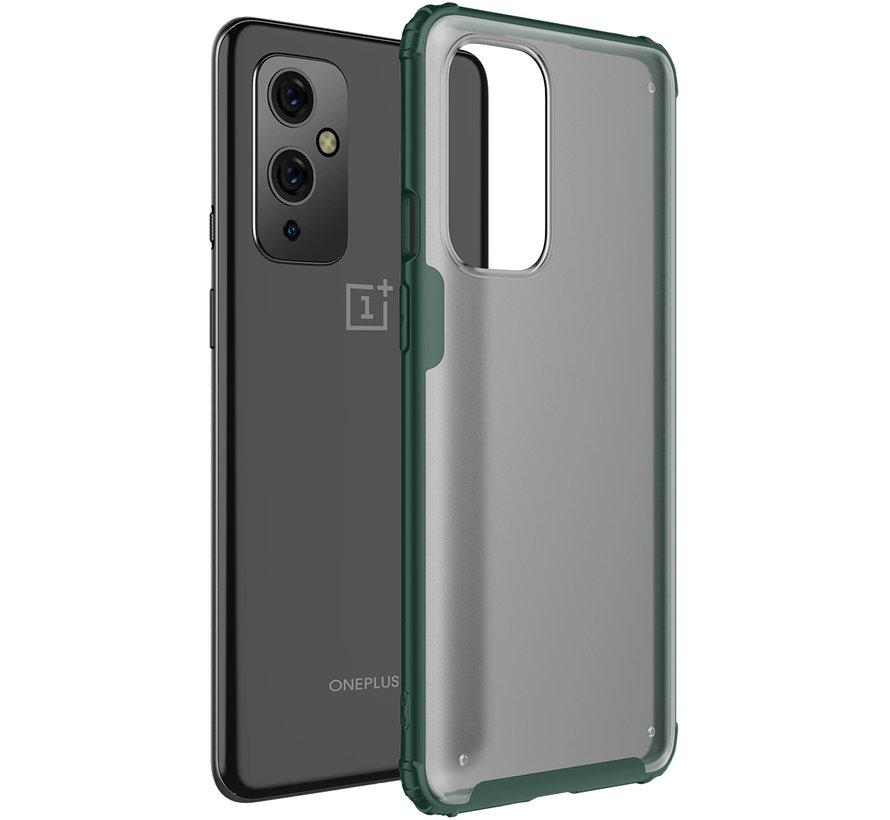 OnePlus 9 Merge Bumper Case Grün